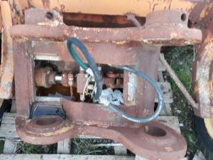Engate Rápido Hidraulico de 1 piston com cavilha de 80mm
